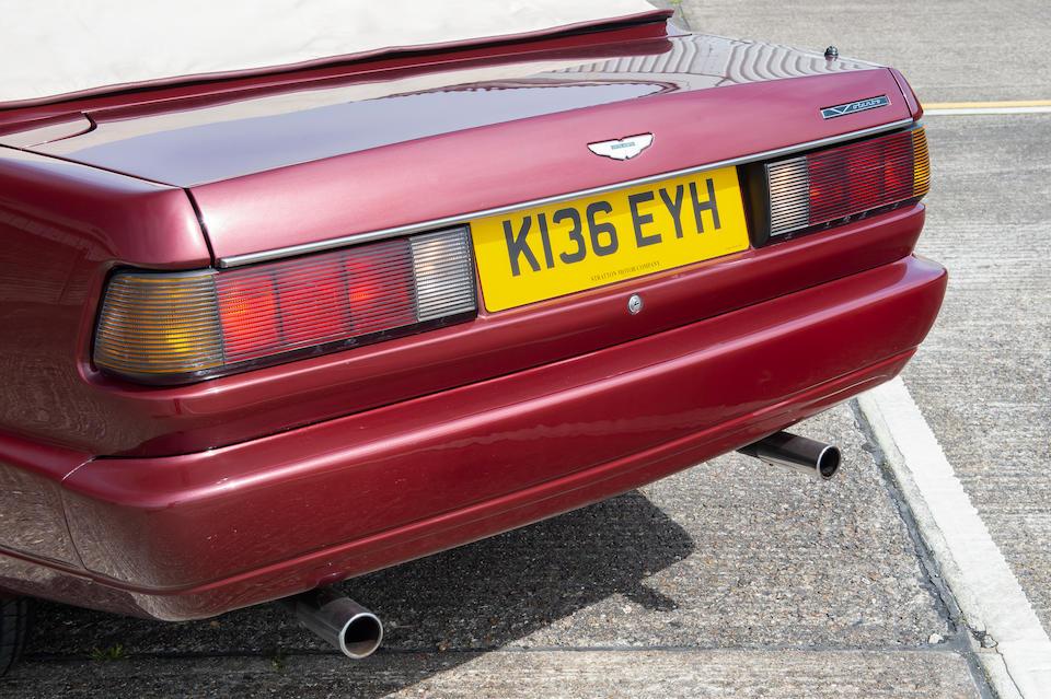 1992 Aston Martin Virage Volante  Chassis no. 60021