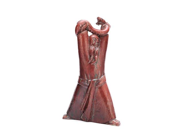 Jais Neilsen (Danish, 1895-1961) for Royal Copenhagen 'Moses and the Serpent': A Figural Study circa 1944