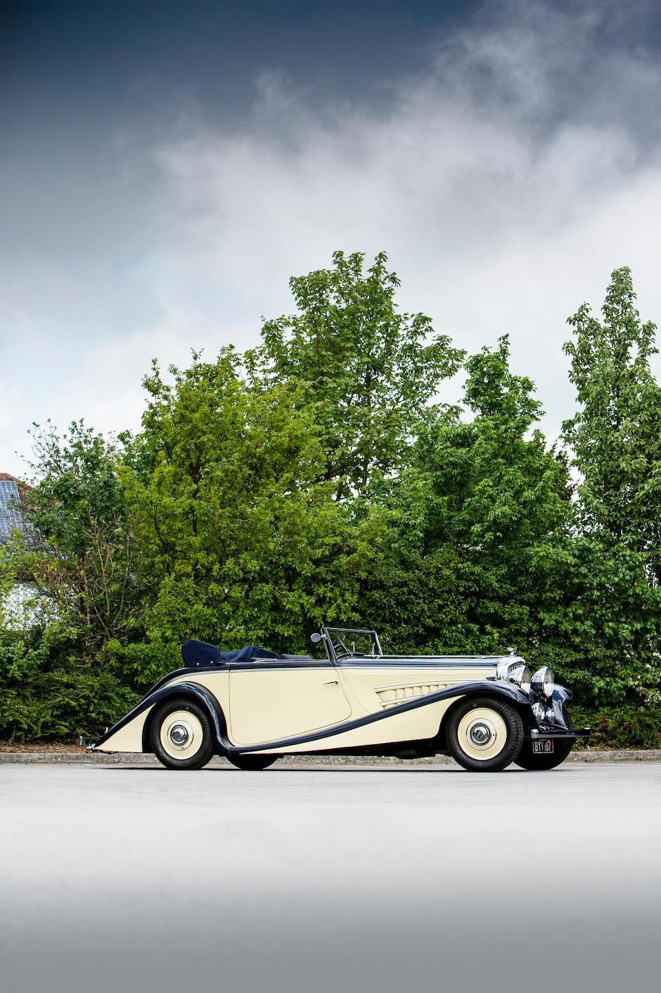 1935 Bentley 3½-Litre Drophead Coupé  Chassis no. B65BN