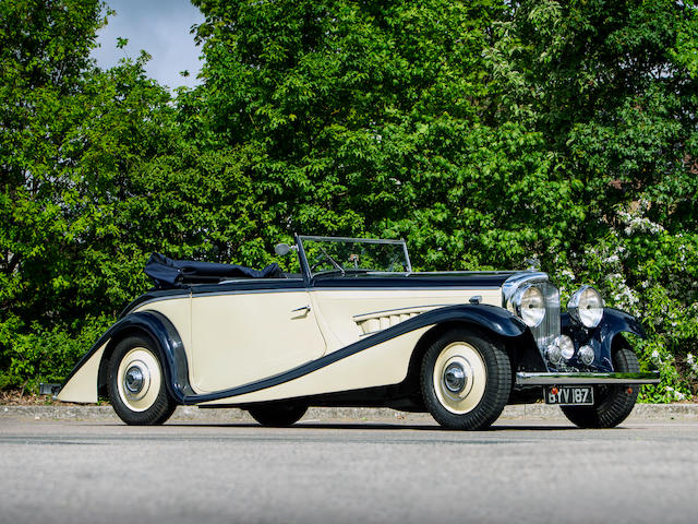 1935 Bentley 3½-Litre Drophead Coupé  Chassis no. B65BN