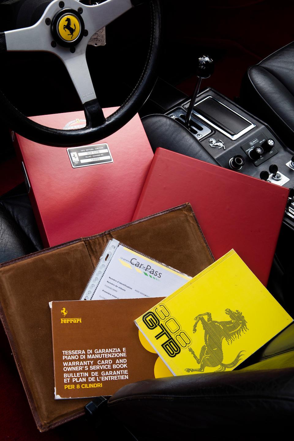 Ferrari Classiche certified,1976 Ferrari 308 GTB Vetroresina   Chassis no. F106 AB 18889