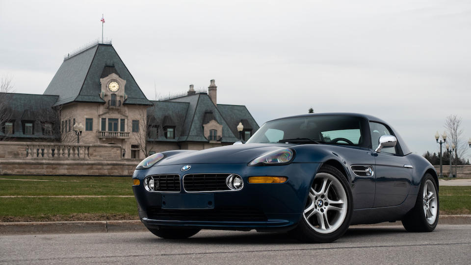One owner from new,2001 BMW  Z8 Roadster  Chassis no. WBAEJ11041AF79478