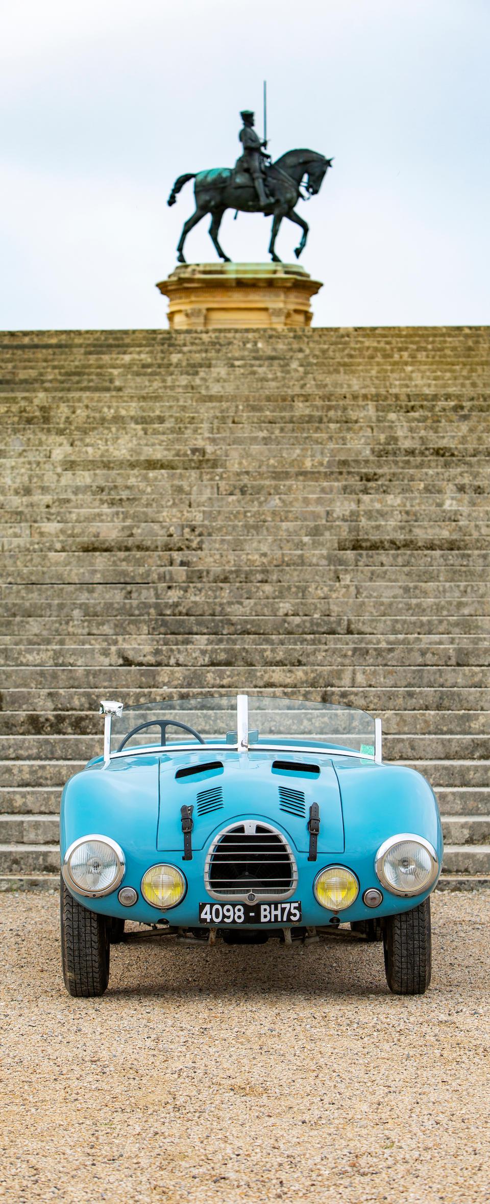 1952 Gordini Type 15S   Chassis no. 018