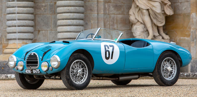1952 Gordini Type 15S   Chassis no. 018