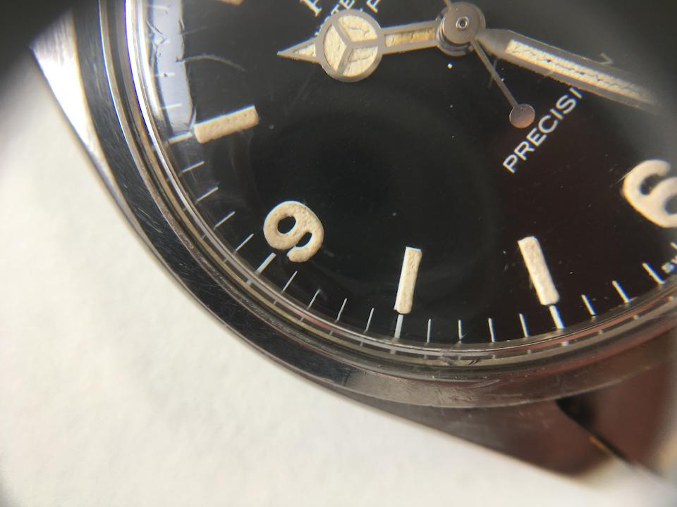 Rolex. A stainless steel automatic bracelet watch   Explorer, Ref: 5500, Sold 7th February 1964