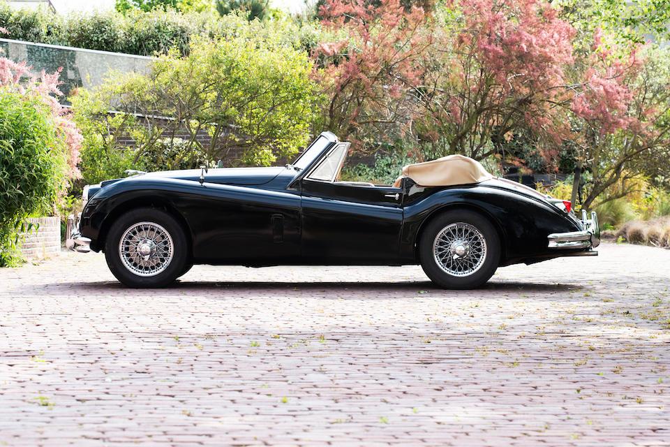 1956 Jaguar  XK140 Drophead Coupé  Chassis no. 819165