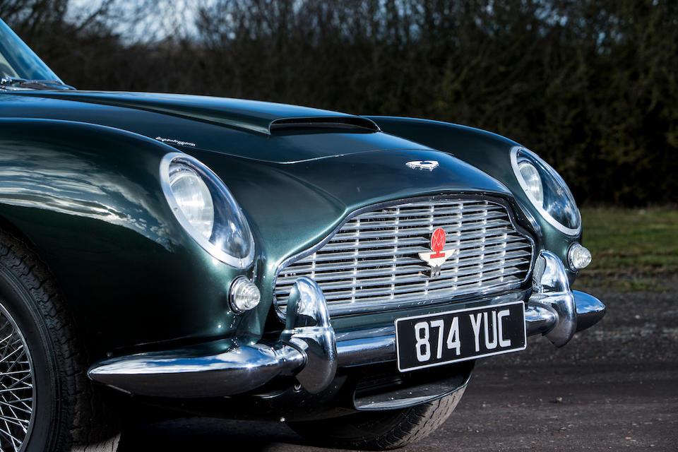 1962 Aston Martin DB4 Series IV 4.2-Litre Vantage Sports Saloon  Chassis no. DB4/982/R