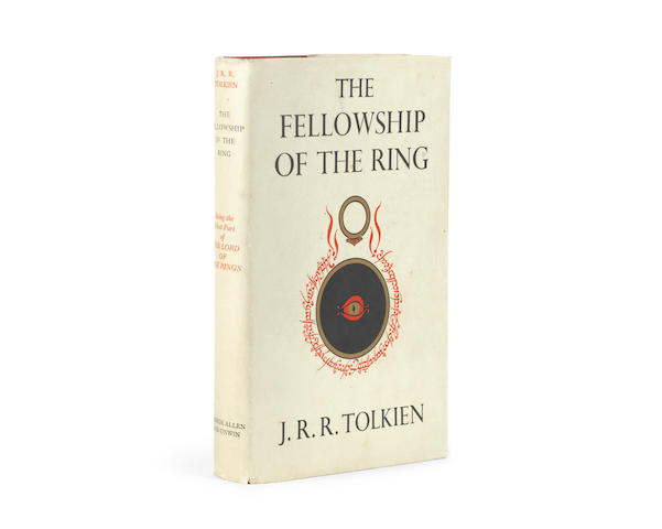 TOLKIEN (J.R.R.) The Fellowship of the Ring. Being the First Part of The Lord of the Rings, FIRST EDITION, George Allen & Unwin, 1954