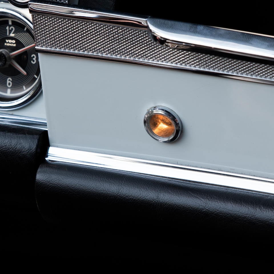 Long-term private ownership (1968-2005),1968 Mercedes-Benz  280 SL 'Pagoda' with Hardtop  Chassis no. 113.044.1000 6006 Engine no. 130-983-10-00 2379