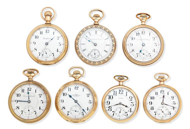 A group of 19th/20th century open faced pocket watches