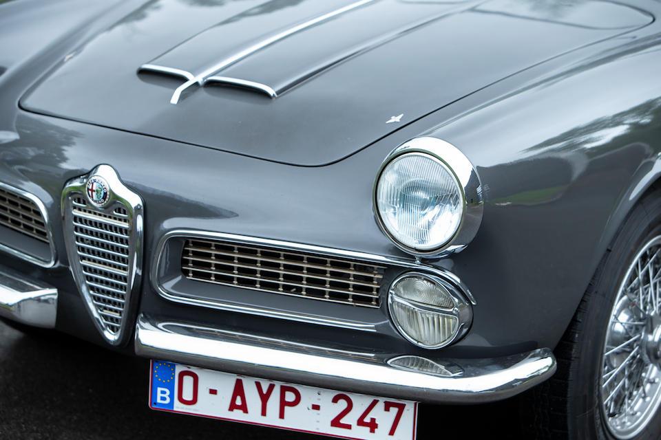 1959 Alfa Romeo  2000 Spider  Chassis no. AR1020401128