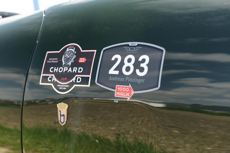 Mille Miglia Storica participant (2012, 2015, 2016),1954 Arnolt-Bristol DeLuxe Roadster  Chassis no. 404/X/3097