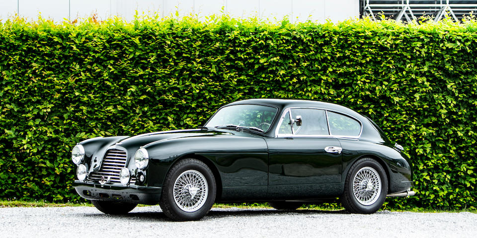 Originally owned by Baron Maurice Solvay,1953 Aston Martin DB2/4 'Mark I' 2.6-Litre Sports Saloon  Chassis no. LML/526