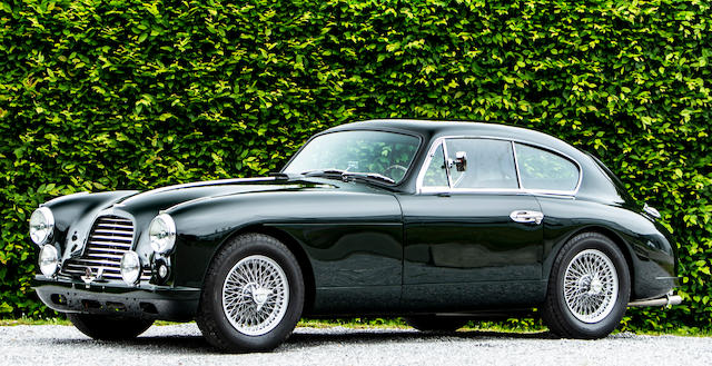 Originally owned by Baron Maurice Solvay, 1953 Aston Martin DB2 / 4 'Mark I' 2.6-Liter Sports Saloon Chassis no.  LML / 526