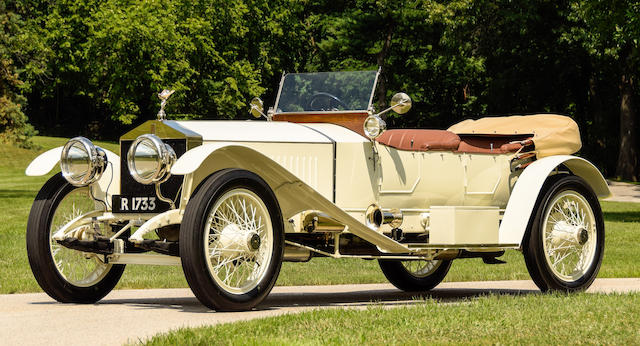 Originally supplied to noted jeweller Albert Janesich in Paris,1913 Rolls-Royce  40/50hp London-Edinburgh Silver Ghost Sports Tourer  Chassis no. 2371