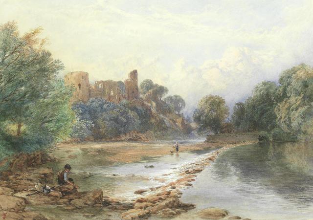 Myles Birket Foster, RWS (British, 1825-1899) Barnard castle