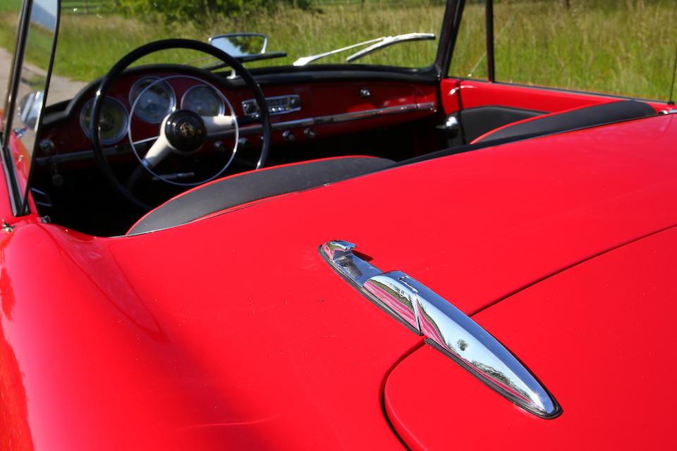 1961  Alfa Romeo  Giulietta Spider  Chassis no. AR169591