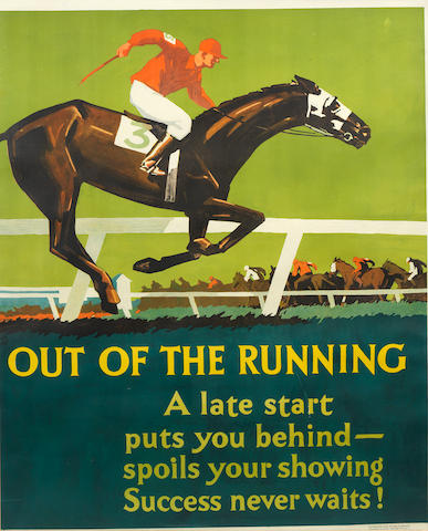 FRANK BEATTY (1899-1984) OUT OF THE RUNNING