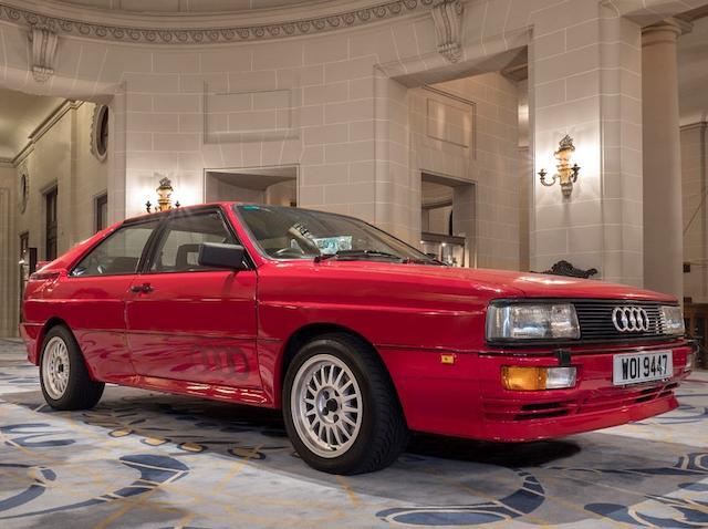 1985 Audi Quattro Coupé   Chassis no. WAUZZZ85ZFA901095