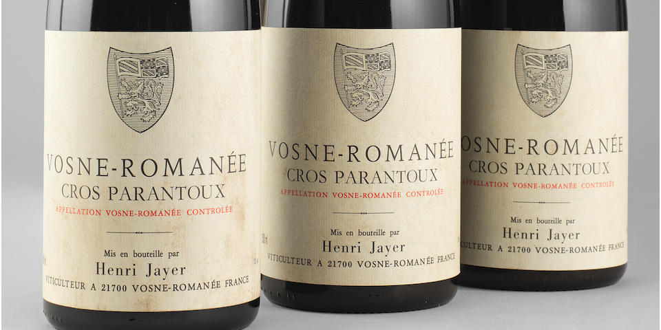 Vosne-Romanée, Cros-Parantoux 1996, Henri Jayer (6 magnums)