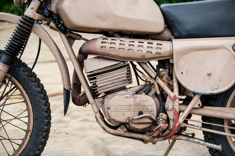 Ex SAS,1975 Bombardier  Can-Am 250