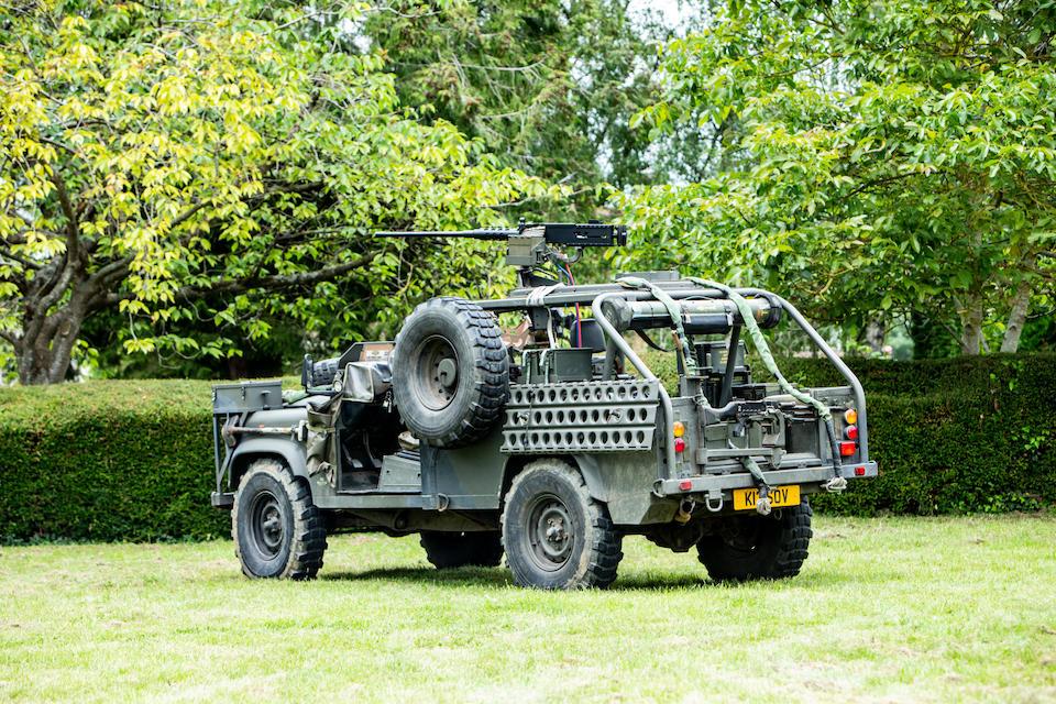 1993 Land Rover Defender 110 V8 SOV Truck Utility SAS  Chassis no. SALLDHAV8KA924346