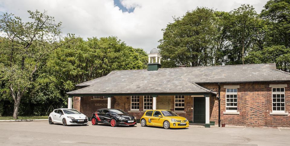2006 Renault Clio V6 255 Sport  Chassis no. VF1C61U0633141023