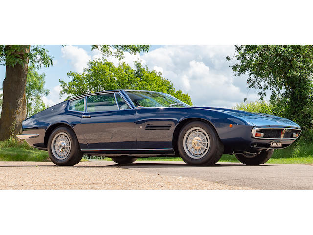 1972 Maserati Ghibli SS 4.9-Litre Coupé  Chassis no. AM115/49 2452
