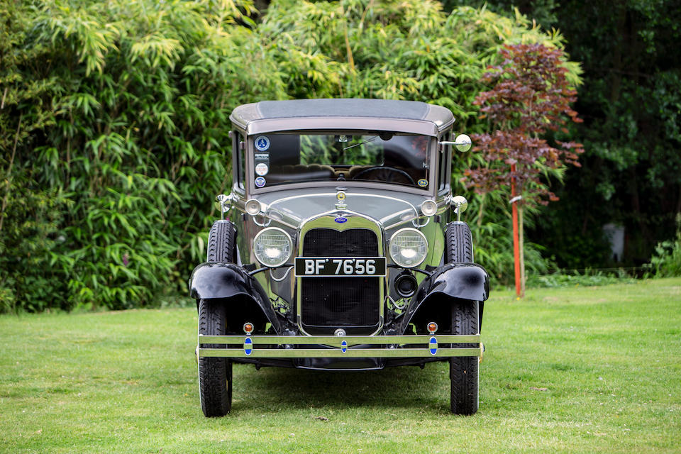 1930 Ford Model A Four Door Saloon  Chassis no. A3897881