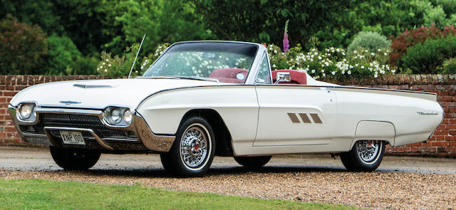 1963 Ford Thunderbird  Chassis no. 3Y85Z107728