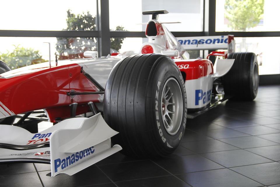 2004 Toyota TF104B Formula 1 Monoposto  Chassis no. TF104B-08B