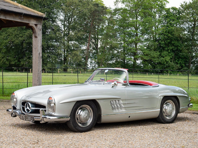 1958 Mercedes-Benz 300 SL Roadster  Chassis no. 1980042-8500067