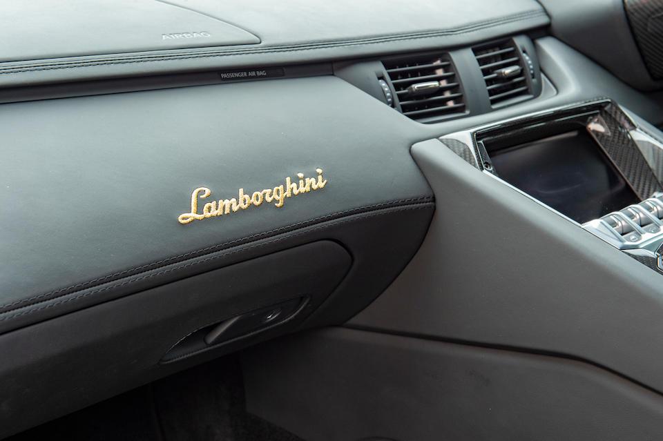 2017 Lamborghini Aventador Miura Homage Coupé  Chassis no. ZHWEC1ZDH8LA05525