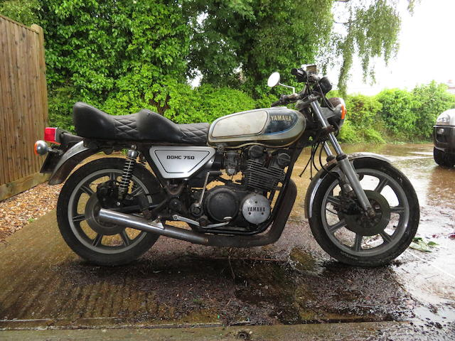 Property of a deceased's estate, 1977 Yamaha XS750 Frame no. 1T5-009886 Engine no. 1T5-009886