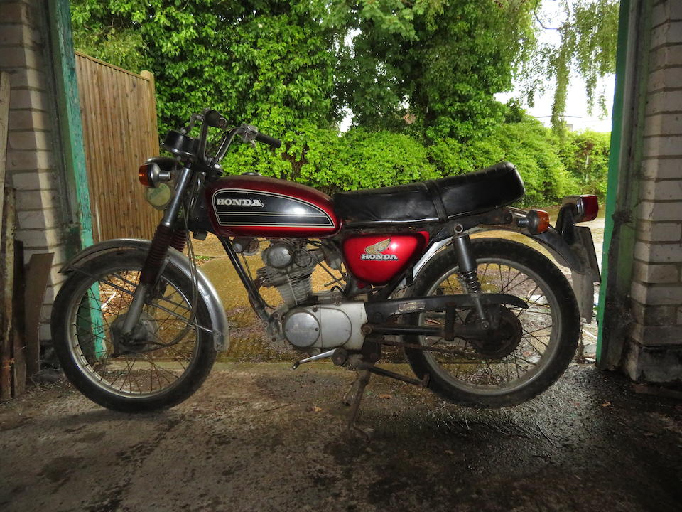 Property of a deceased's estate , 1974 Honda CB125 Frame no. to be advised Engine no. to be advised