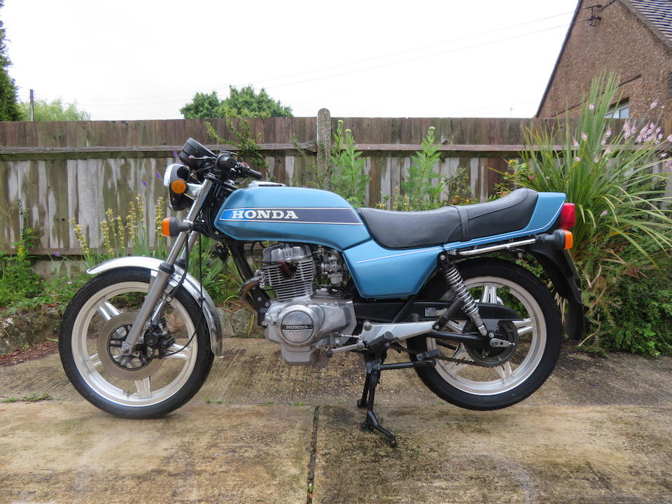 Property of a deceased's estate, 1979 Honda CB250N Dream Frame no. CB250N2018628 Engine no. CB250NE2018636
