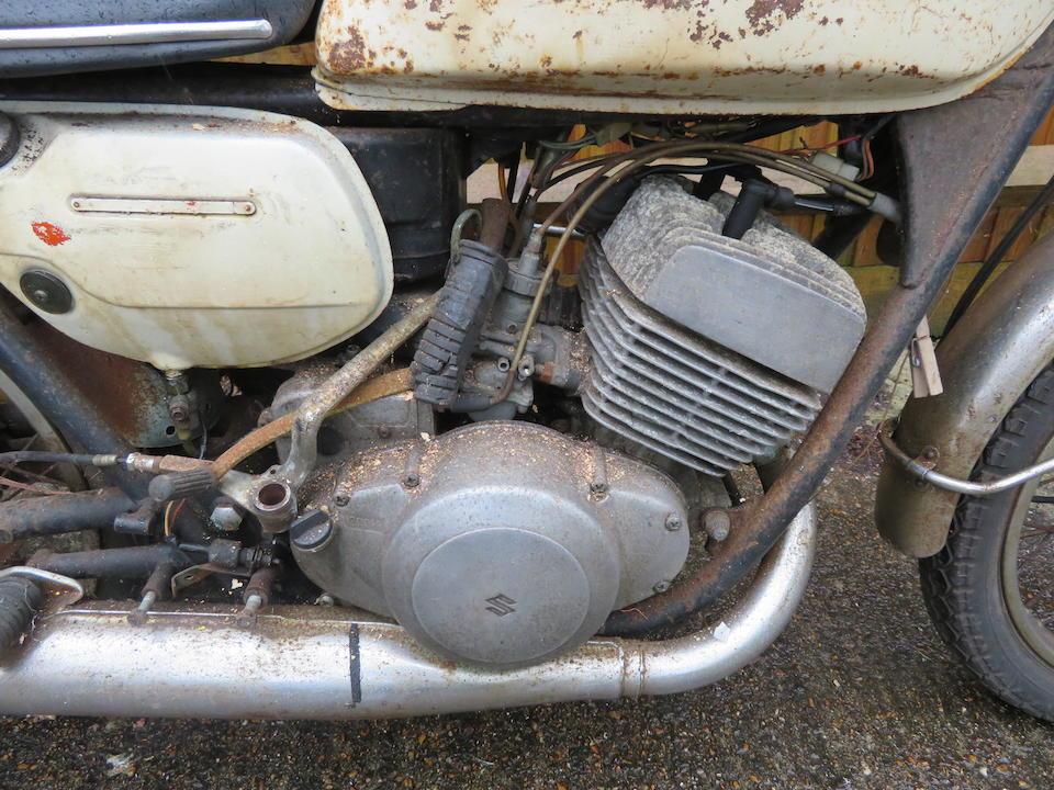 Property of a deceased's estate, c.1971 Suzuki T250 Hustler Project Frame no. T250-50709 Engine no. 250-50798