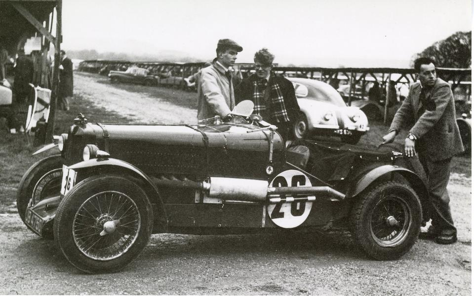 The Ex-Charlie Dodson 1934 RAC TT-winning,1934 MG NE Magnette Sports Racing Two-Seater  Chassis no. NA 0522