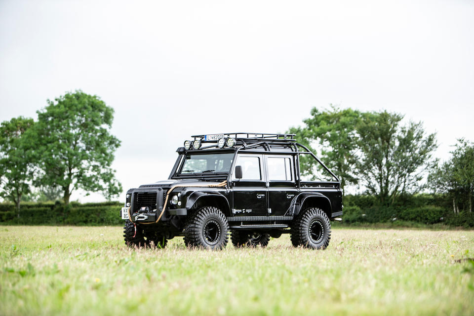 Bonhams : The only Land Rover used in two consecutive James