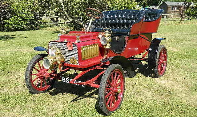 Offered with an entry to the 2019 London to Brighton Veteran Car Run,1904 Rambler 7hp Model H Tonneau  Chassis no. 3561