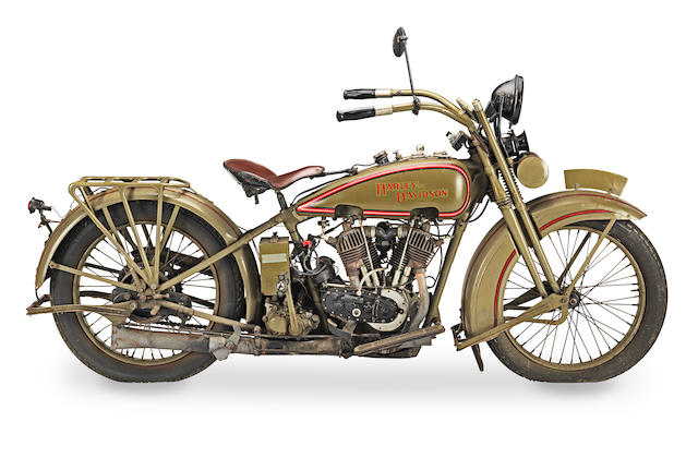 1926 Harley-Davidson 1,000cc Model JD Engine no. 26J9854