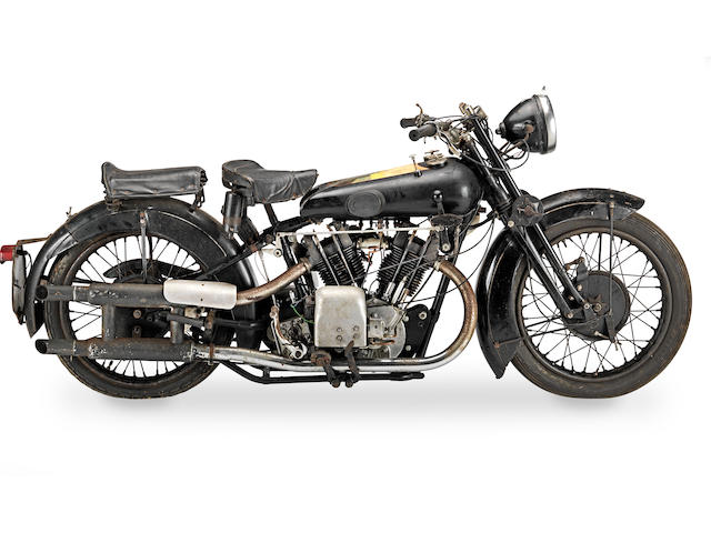 1927 Brough Superior Overhead 680 Frame no. 619 Engine no. GTO/I 82135/SD