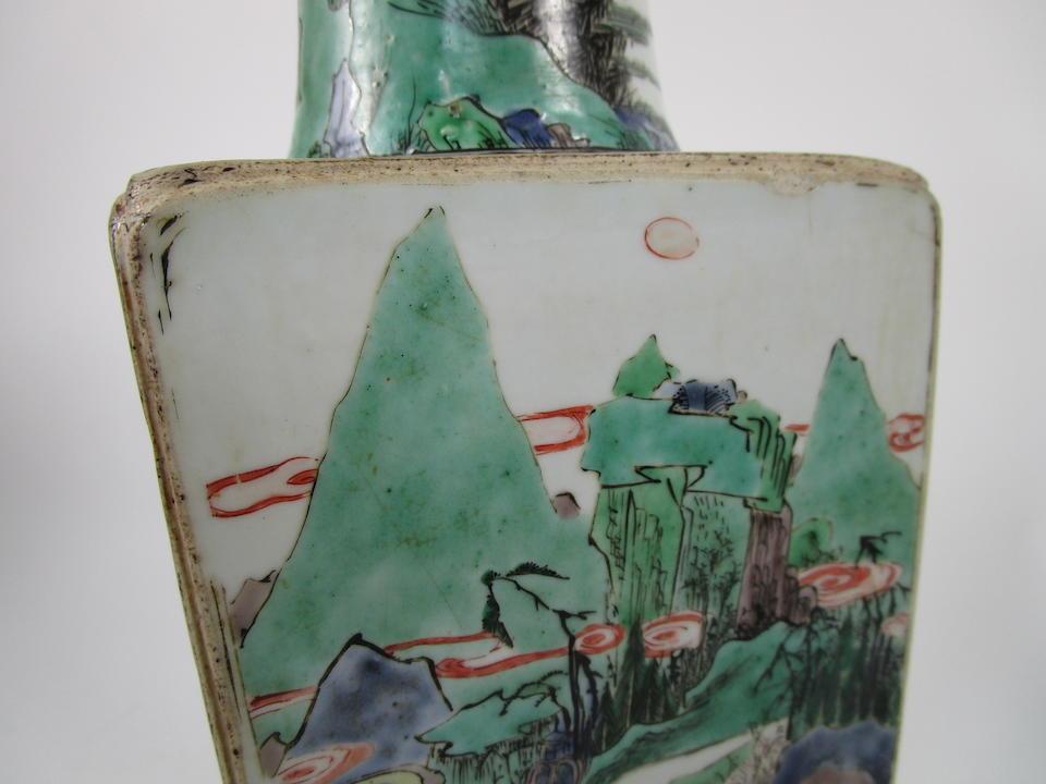 A famille verte vase Kangxi (2)