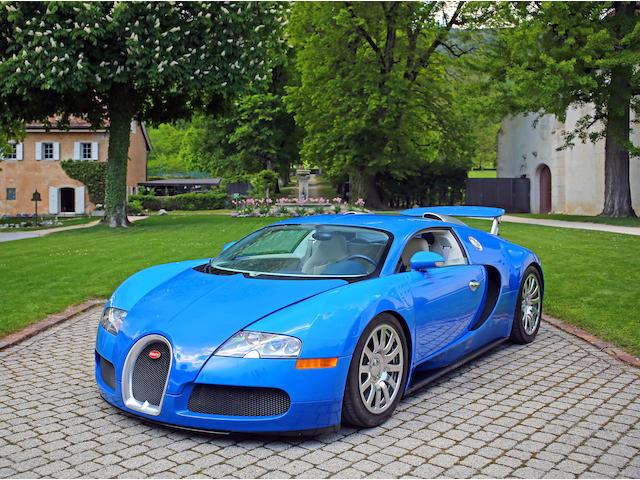 Bugatti  Veyron16.4  Chassis no. VF9SA25C18M795208