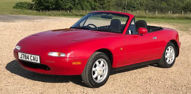 1991 Mazda MX5 1.6 MK1  Chassis no. JMZNA188200122835
