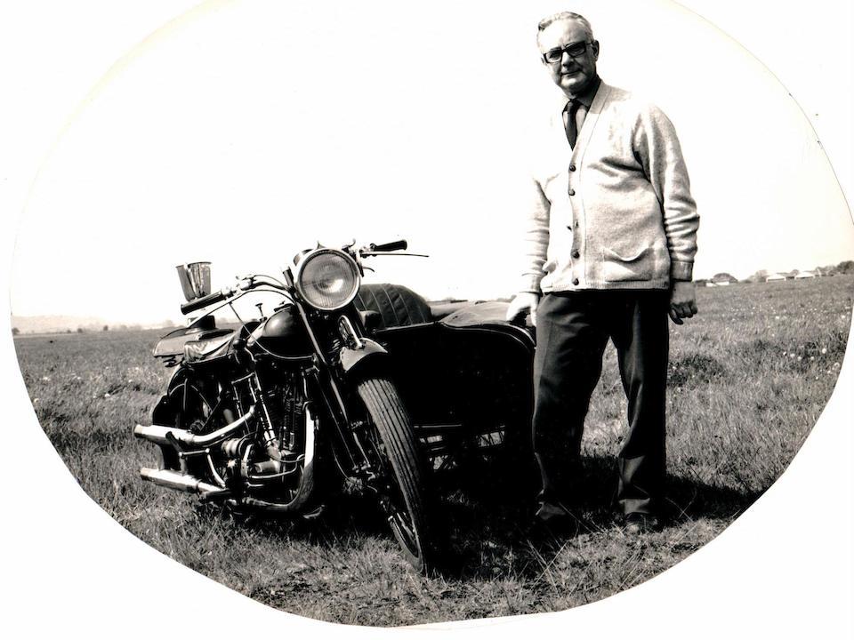 1927 Brough Superior Overhead 680 Frame no. 619 Engine no. GTO/I 82135/SD