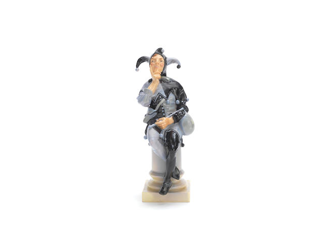 'Jester': A Figure by Royal Doulton maker's marks, dated 1918