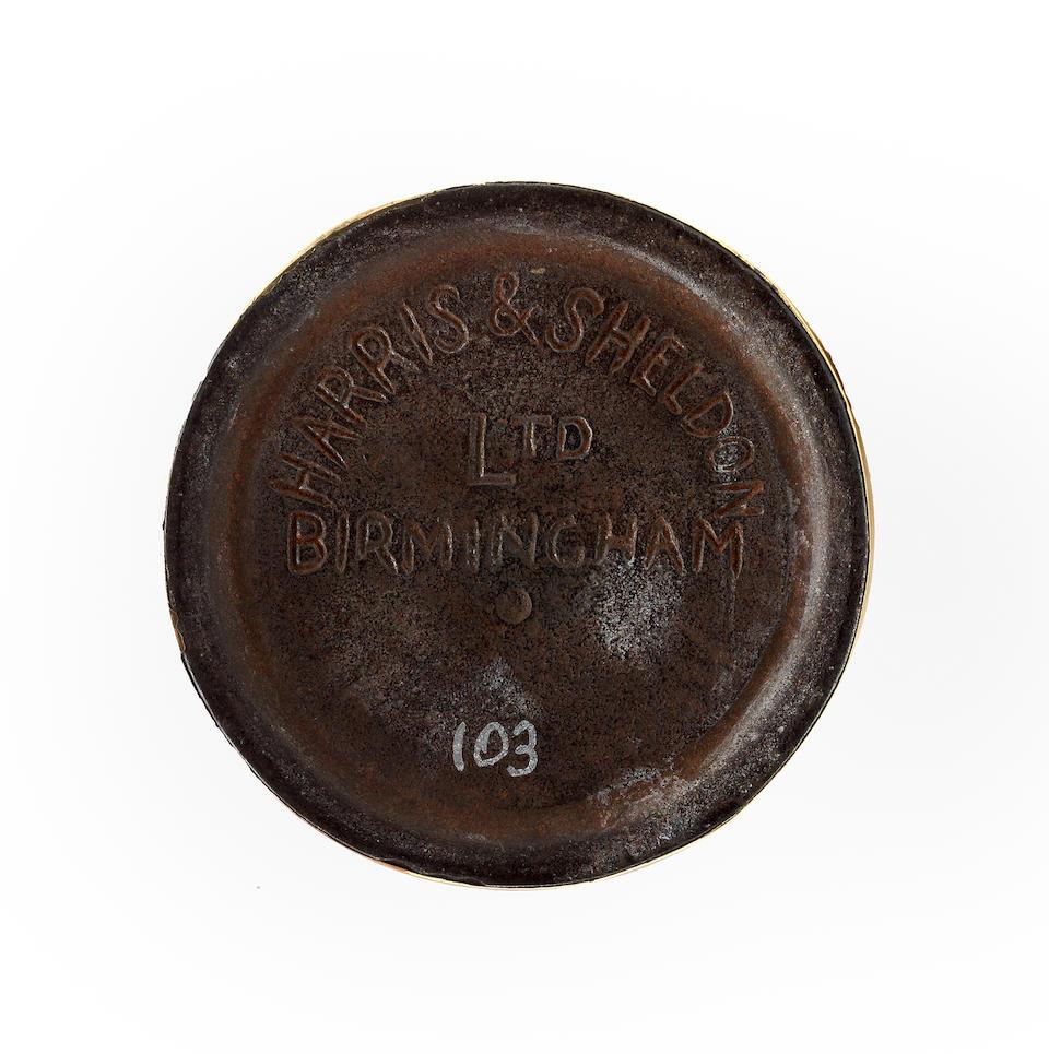 Two goffering irons, British, circa 1890, by Harris & Sheldon of Birmingham  (2)