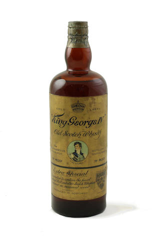 King George IV Old Scotch Whisky