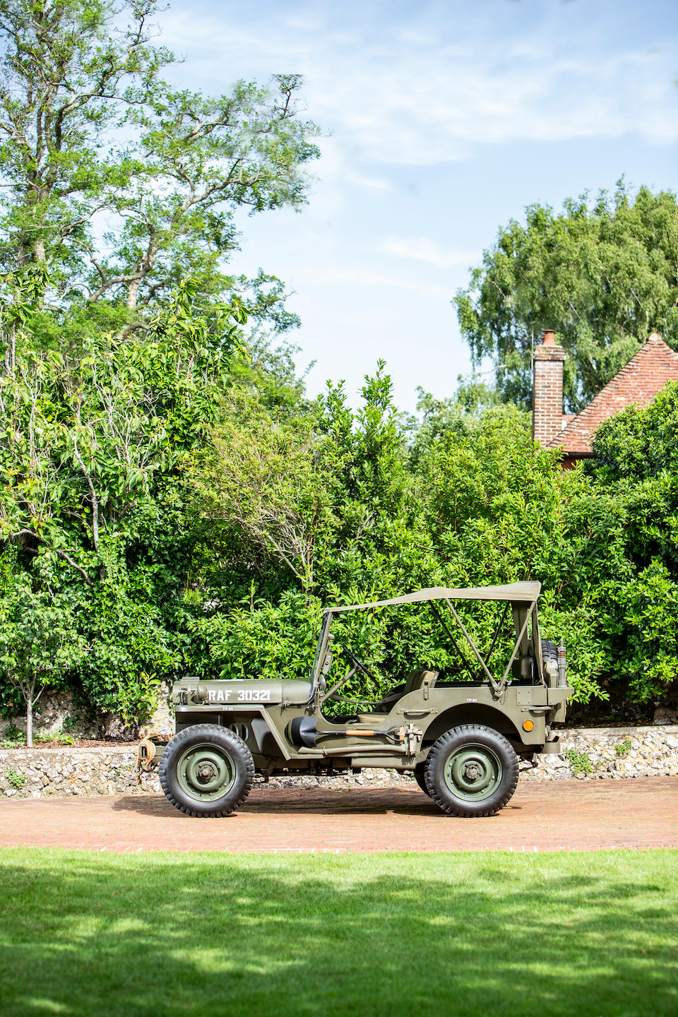 1944 Ford Jeep 4x4 Light Utility  Chassis no. 174394